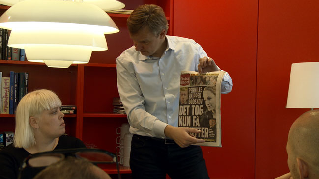 The Future of (Tabloid) Newspapers